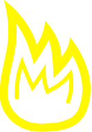 Irons in the fire Logo